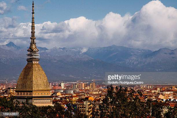 Mole Antonelliana, Torino and Alps