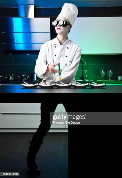 Chef de cuisine moléculaire