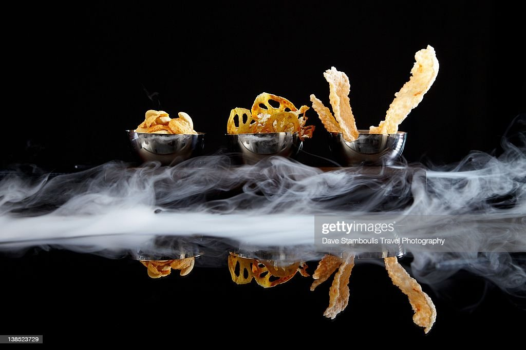 Molecular gastronomy : Stock Photo
