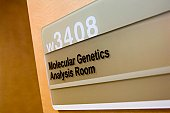 Molecular Genetics Analysis Room