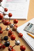Molecular model and homework