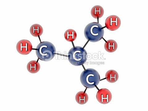 C4h10 Molecule Of Butane Stock Photo Thinkstock