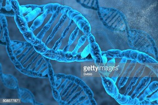 DNA-Molekülen : Stock-Foto