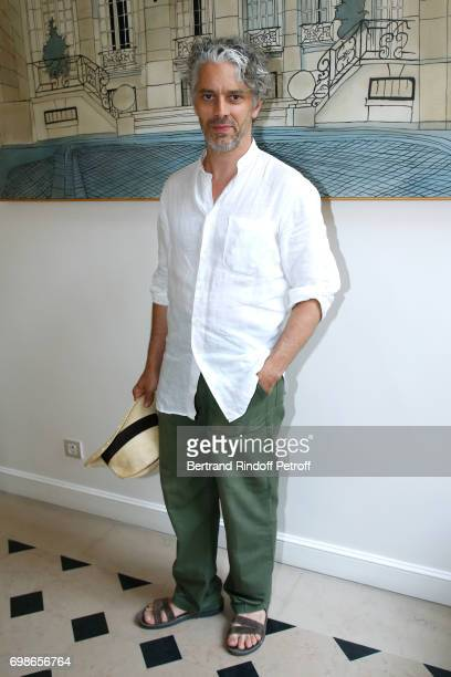 Moliere awarded actor and director James Thierree attends the 'Caisse d'Epargne IleDeFrance' supports the Ceremony of the Molieres 2017 Party on June...