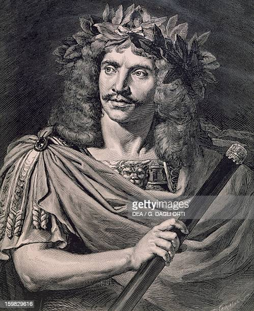 Moliere plays Caesar in the Death of Pompey by Pierre Corneille Paris Bibliothèque Des Arts Decoratifs