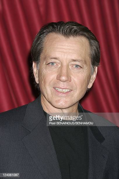 Molieres 2005 ceremony at the Theatre Mogador In Paris France On May 09 2005 Bernard Giraudeau