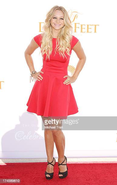 Mollee Gray arrives at the Dizzy Feet Foundation's 3rd Annual Celebration of Dance Gala held at Dorothy Chandler Pavilion on July 27 2013 in Los...