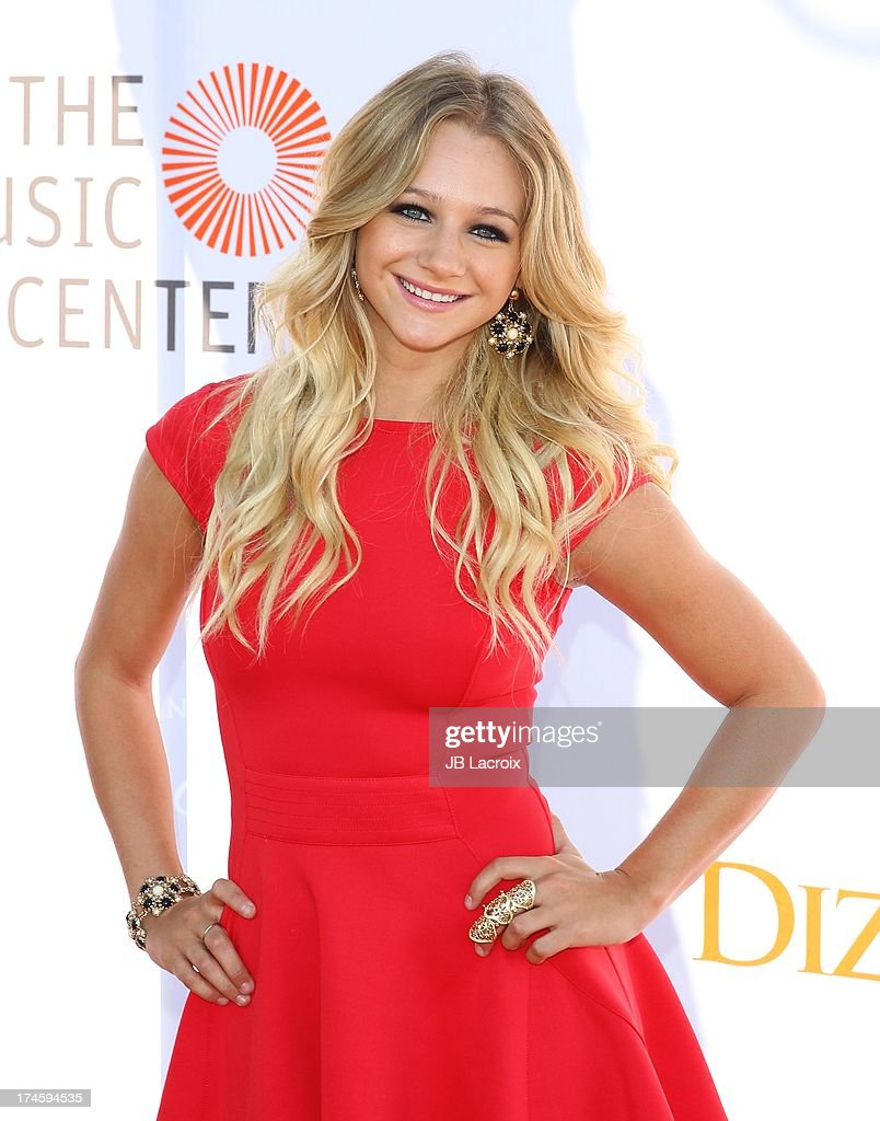 Mollee Gray attends the 3rd Annual Celebration Of Dance Gala held at Dorothy Chandler Pavilion on July 27, 2013 in Los Angeles, California.