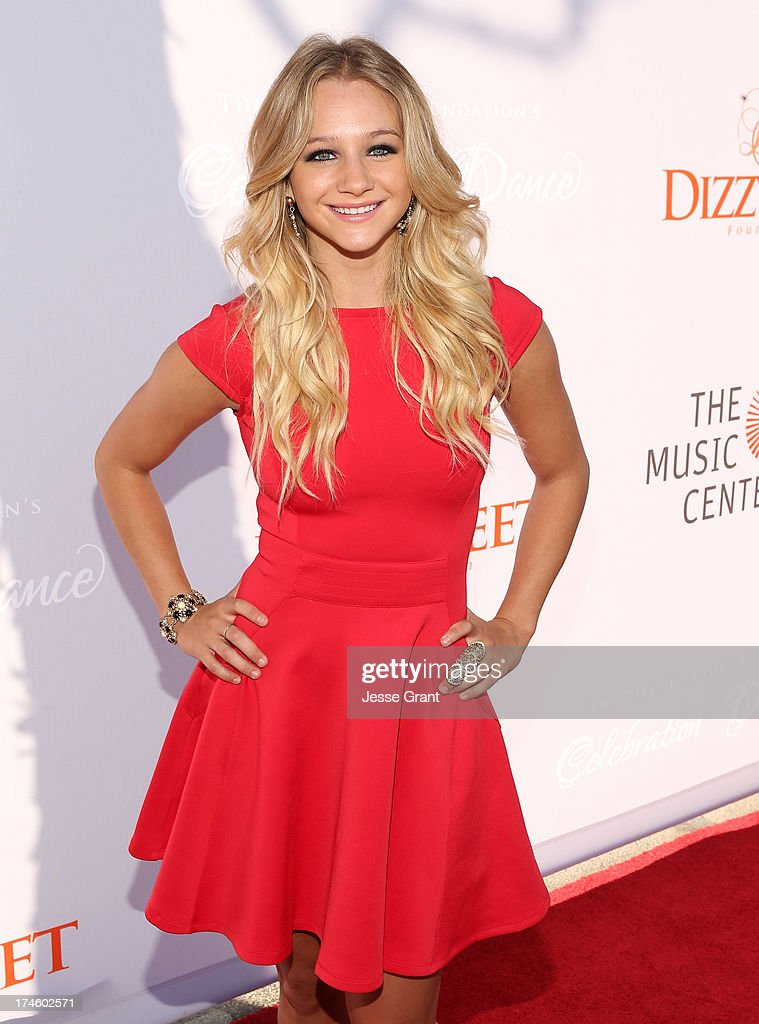 Mollee Gray attends the Dizzy Feet Foundation Third 'Celebration of Dance' Gala at The Music Center on July 27, 2013 in Los Angeles, California.