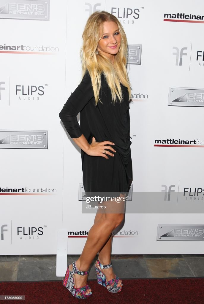 Mollee Grey attends the Matt Leinart Foundation's 7th Annual 'Celebrity Bowl' at Lucky Strikes on July 18, 2013 in Hollywood, California.