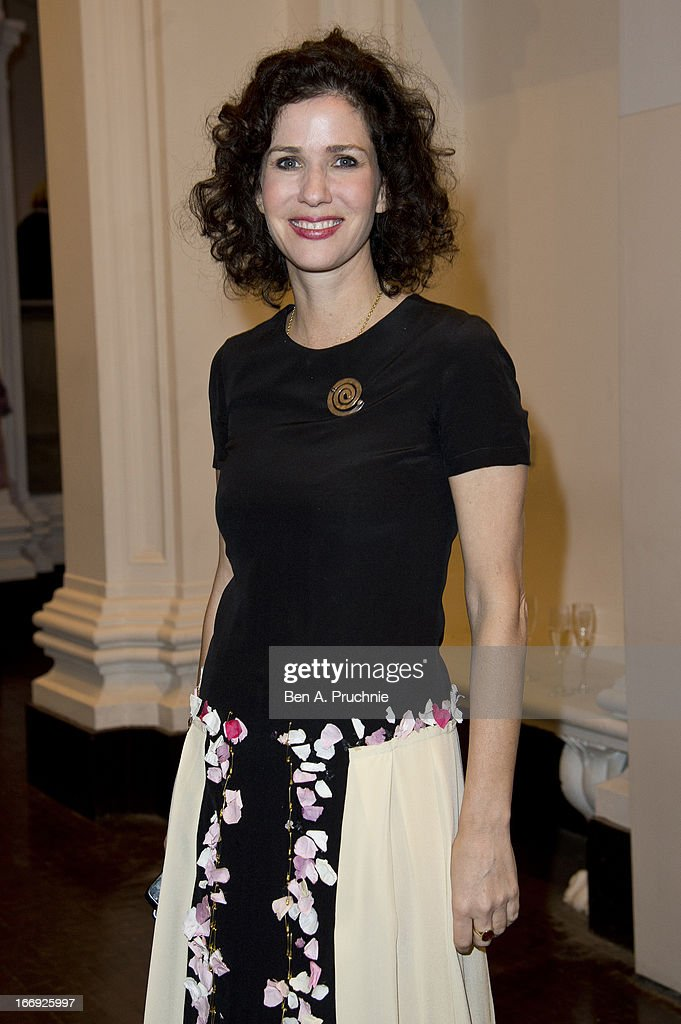 Mollie Dent-Brockelhurst attends a private View and VE-Day Party For Calder After The War at Pace London Gallery on April 18, 2013 in London, England.