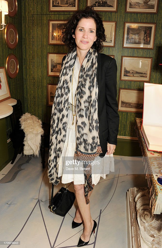 Mollie Dent-Brocklehurst attends the launch of Nicky Haslam's new album 'Midnight Matinee' on July 1, 2013 in London, England.