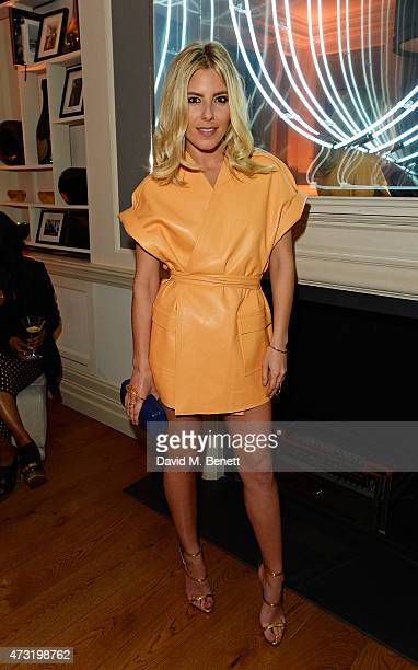 Mollie King arrives at the closing party of 'Les 3 Etages By Dom Perignon' with Sunday Times Style on May 13 2015 in London England