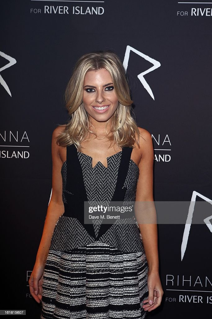 <a gi-track='captionPersonalityLinkClicked' href=/galleries/search?phrase=Mollie+King&family=editorial&specificpeople=5522262 ng-click='$event.stopPropagation()'>Mollie King</a> arrives for the Rihanna for River Island fashion show during London Fashion Week Fall/Winter 2013/2014 at the Old Sorting Office on February 16, 2013 in London, England.