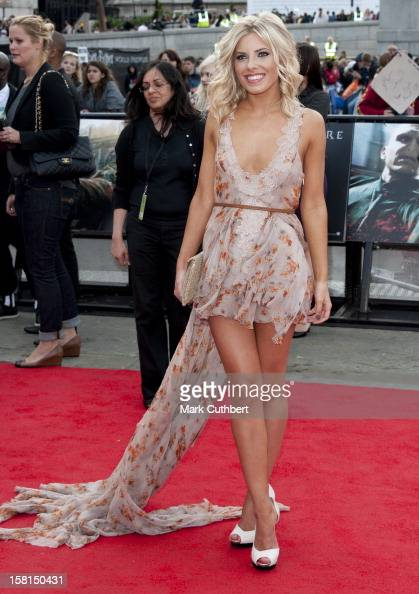 Mollie King Arriving For The World Premiere Of Harry Potter And The Deathly Hallows Part 2 In London
