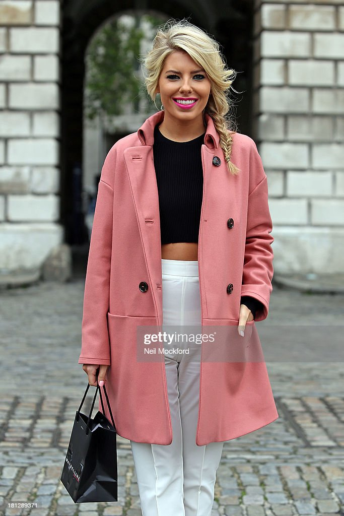 <a gi-track='captionPersonalityLinkClicked' href=/galleries/search?phrase=Mollie+King&family=editorial&specificpeople=5522262 ng-click='$event.stopPropagation()'>Mollie King</a> at Somerset House with Maybelline for Vodafone London Fashion weekend on September 20, 2013 in London, England.