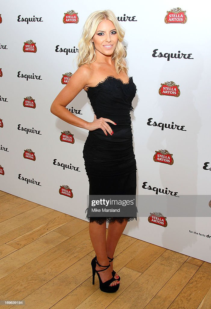 Mollie King attends Esquire magazine's summer party at Somerset House on May 29, 2013 in London, England.