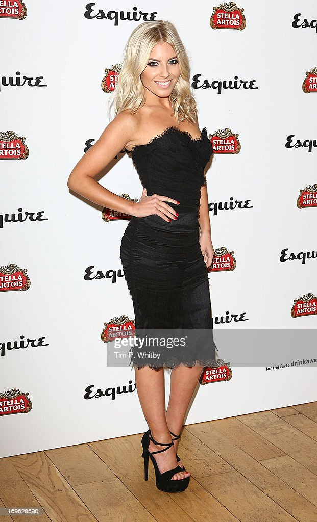 Mollie King attends Esquire's first summer party at Somerset House on May 29, 2013 in London, England.