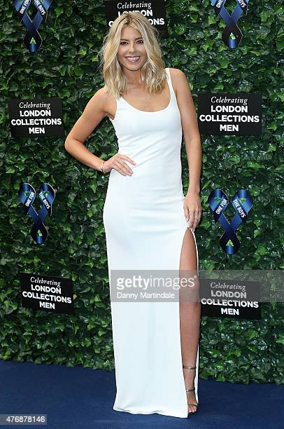 Mollie King attends One For The Boys Fashion Ball at The Roundhouse on June 12 2015 in London England