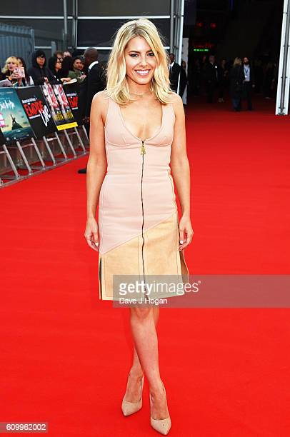 Mollie King attends the American Airlines Presents Empire Live double gala screening of 'Swiss Army Man' and 'Imperium' at The O2 Arena on September...