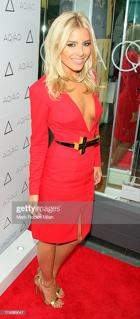 <a gi-track='captionPersonalityLinkClicked' href=/galleries/search?phrase=Mollie+King&family=editorial&specificpeople=5522262 ng-click='$event.stopPropagation()'>Mollie King</a> attends the AQAQ launch party on July 23, 2013 in London, England.