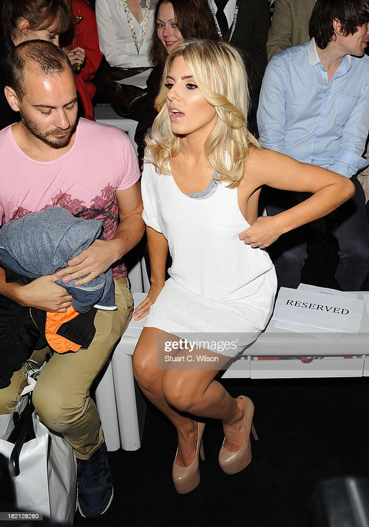 <a gi-track='captionPersonalityLinkClicked' href=/galleries/search?phrase=Mollie+King&family=editorial&specificpeople=5522262 ng-click='$event.stopPropagation()'>Mollie King</a> attends the Ashish show during London Fashion Week Fall/Winter 2013/14 at Somerset House on February 19, 2013 in London, England.