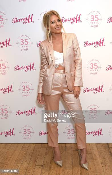 Mollie King attends the Barry M 35th Anniversary event at The OXO Tower on June 7 2017 in London England