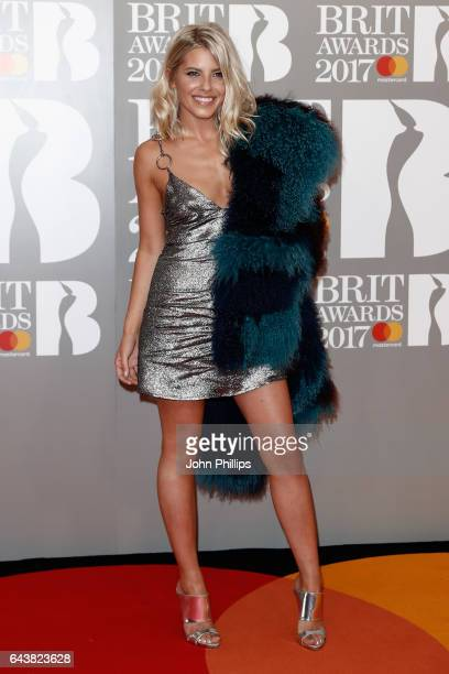 Mollie King attends The BRIT Awards 2017 at The O2 Arena on February 22 2017 in London England