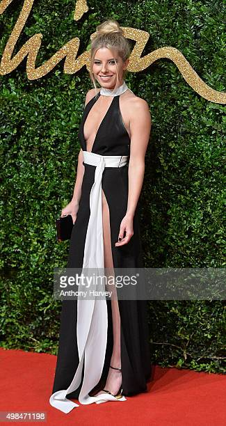 Mollie King attends the British Fashion Awards 2015 at London Coliseum on November 23 2015 in London England