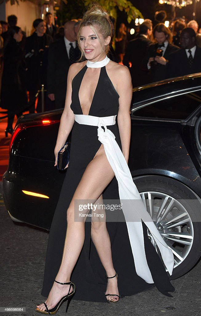 Mollie King attends the British Fashion Awards 2015 at London Coliseum on November 23, 2015 in London, England.