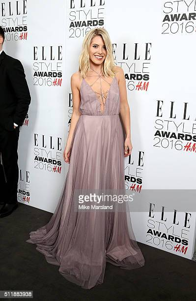 Mollie King attends The Elle Style Awards 2016 on February 23 2016 in London England