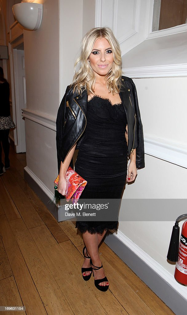 Mollie King attends the Esquire Summer Party in association with Stella Artois at Somerset House on May 29, 2013 in London, England.