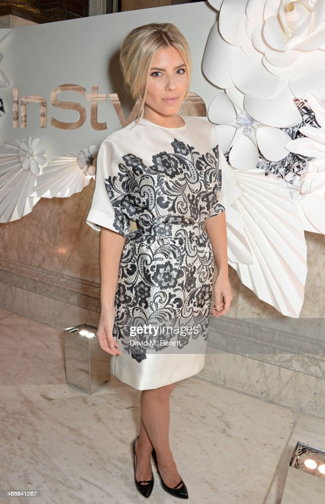 Mollie King attends the InStyle Best of British Talent party in celebration of BAFTA in association with Lancome and Sky Living at Dartmouth House on...