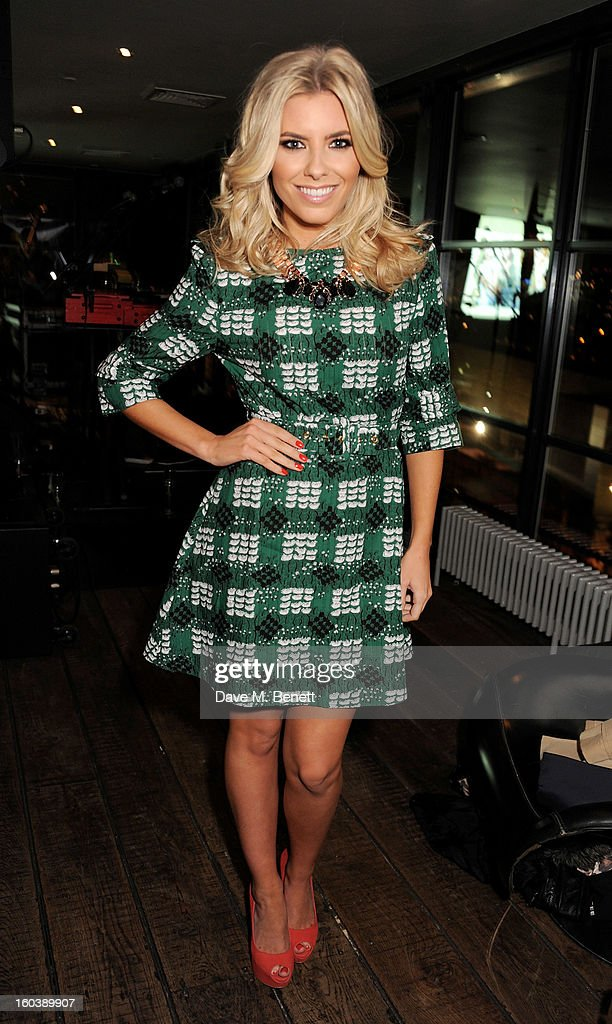 Mollie King attends the InStyle Best Of British Talent party in association with Lancome and Avenue 32 at Shoreditch House on January 30, 2013 in London, England.
