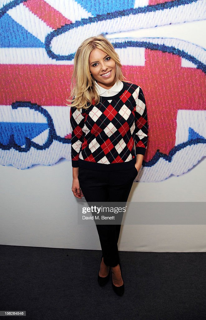 Mollie King attends the Lacoste VIP lounge during day eight of the ATP World Finals at the O2 Arena on November 12, 2012 in London, England.