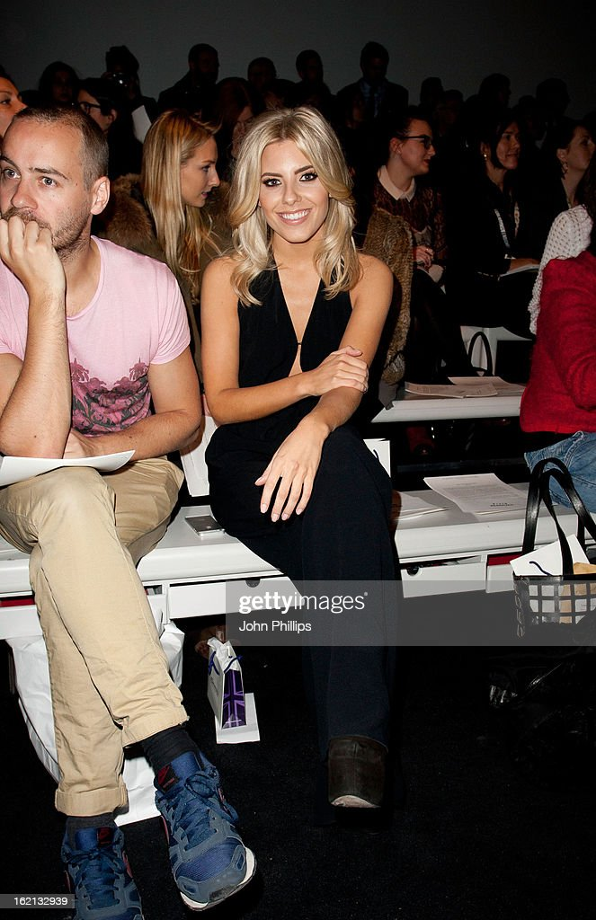 <a gi-track='captionPersonalityLinkClicked' href=/galleries/search?phrase=Mollie+King&family=editorial&specificpeople=5522262 ng-click='$event.stopPropagation()'>Mollie King</a> attends the Maria Grachvogel show during London Fashion Week Fall/Winter 2013/14>> at Somerset House on February 19, 2013 in London, England.