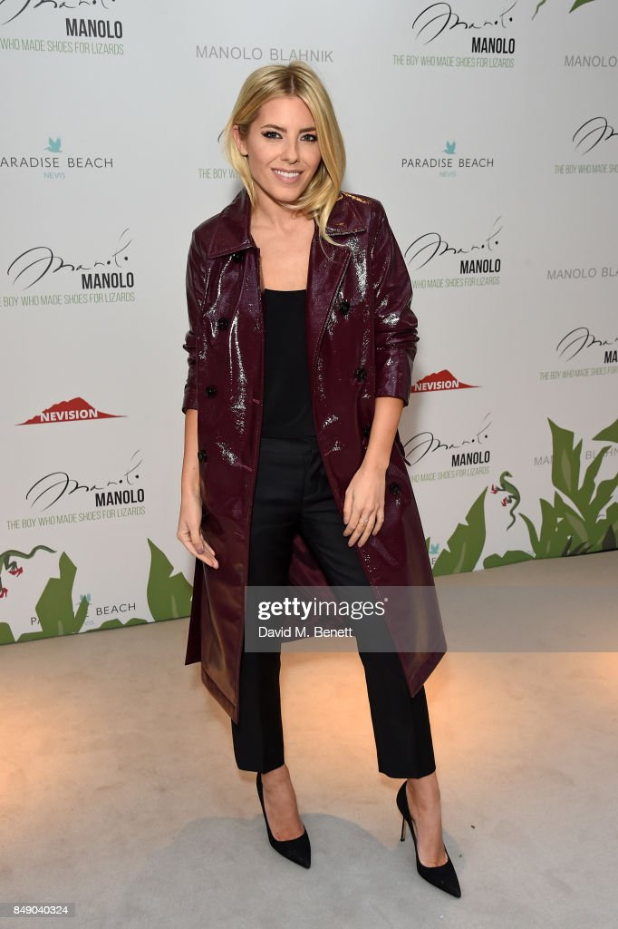 Mollie King attends the screening of 'Manolo - The Boy Who Made Shoes For Lizards' during London Fashion Week September 2017 at Curzon Bloomsbury on September 18, 2017 in London, England.