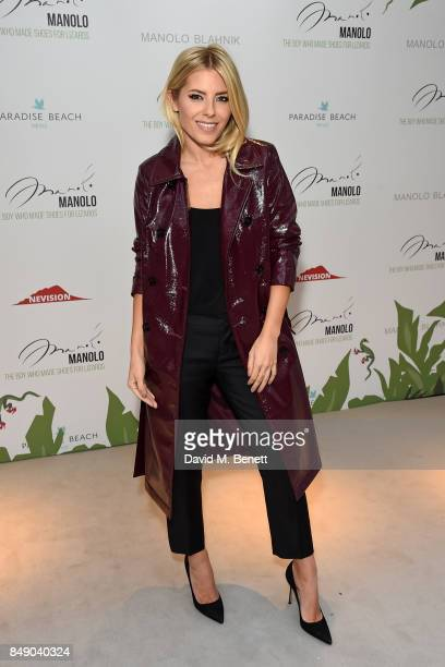 Mollie King attends the screening of 'Manolo The Boy Who Made Shoes For Lizards' during London Fashion Week September 2017 at Curzon Bloomsbury on...