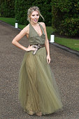 Mollie King attends the Vogue and Ralph Lauren Wimbledon party at The Orangery on June 22 2015 in London England