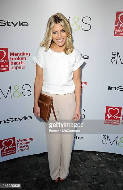 Mollie King attends Tunnel of Love in aid of The British Heart Foundation at Proud Camden on May 29 2012 in London England