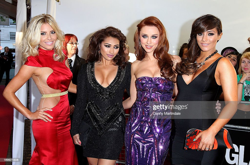 Mollie King, Vanessa White, Una Healy and Frankie Sandford of The Saturdays attends Glamour Women of the Year Awards 2013 at Berkeley Square Gardens on June 4, 2013 in London, England.