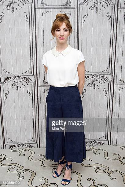 Molly Bernard attends the Build Series to discuss 'Younger' at AOL HQ on September 26 2016 in New York City