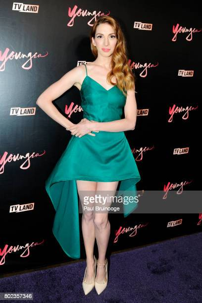 Molly Bernard attends 'Younger' season four premiere party at Mr Purple on June 27 2017 in New York City