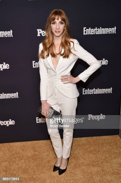 Molly Bernard of Younger attends the Entertainment Weekly and PEOPLE Upfronts party presented by Netflix and Terra Chips at Second Floor on May 15...