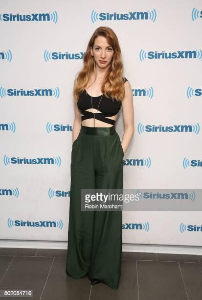 Molly Bernard visits at SiriusXM Studios on June 27 2017 in New York City