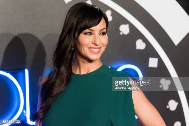 Molly Bloom arrives for the 'Molly's Game UK film premiere in London United Kingdom on December 06 2017