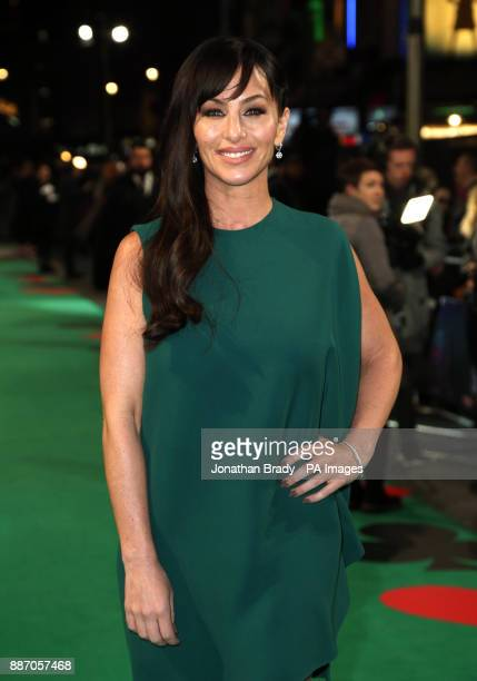 Molly Bloom attending the UK Premiere of Molly's Game at Vue West End Leicester Square London PRESS ASSOCIATION Photo Picture date Wednesday December...