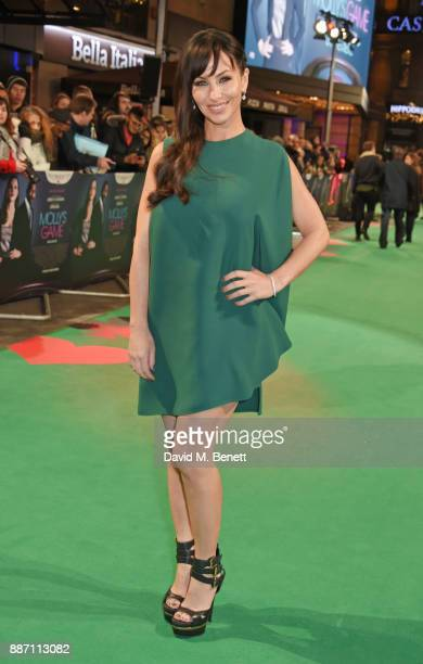 Molly Bloom attends the UK Premiere of 'Molly's Game' at Vue West End on December 6 2017 in London England