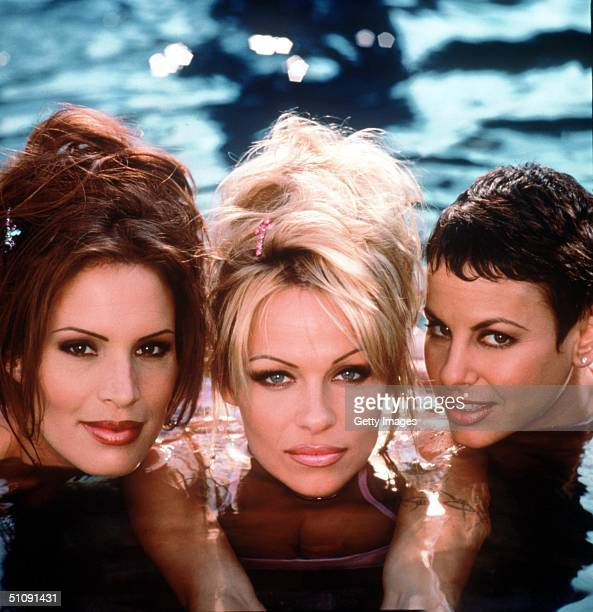 Molly Culver Pamela Anderson And Natalie Raitano In 'VIP' 1999 Columbia Tristar International Television/Supplied By Online USA Inc