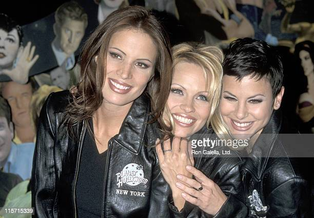 Molly Culver Pamela Anderson and Natalie Raitano